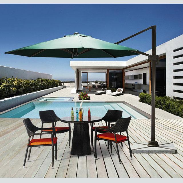 Waterproof Casual Sunshade Garden Table
