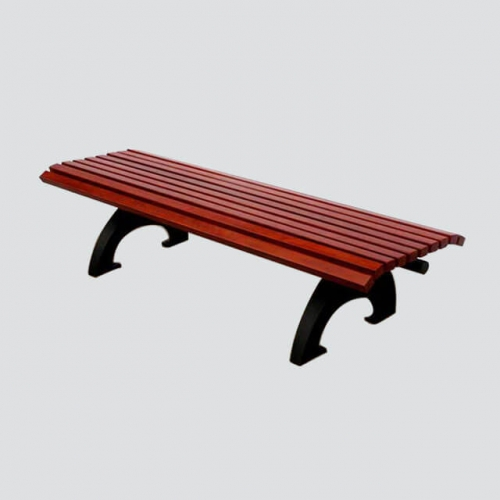 FW13 wood slat bench