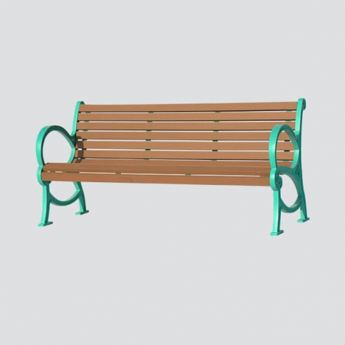 FW25 cast iron outdoor bench