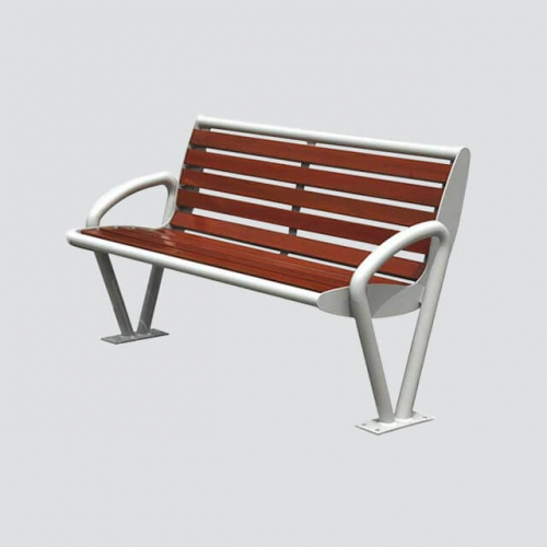 FW18 simple outdoor wood bench