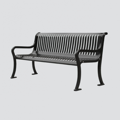 FS26 steel garden bench