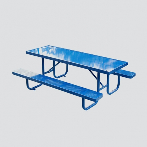 TB13 outdoor steel picnic table