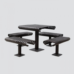 TB21 Unfoldable steel table sets