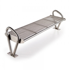 FS13 stainless steel park bench