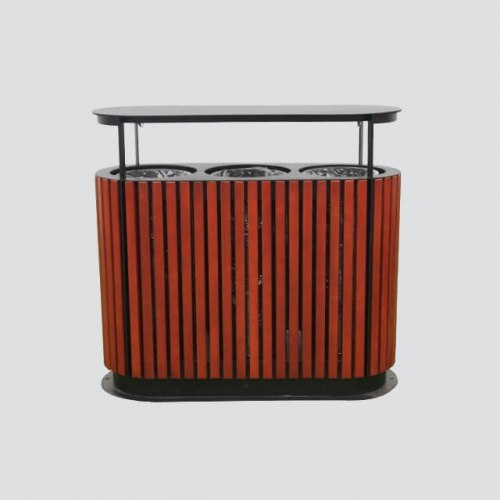 BW11 outdoor litter bin