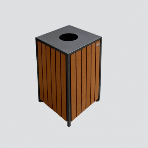BW14 wooden trash bin rectangular bins