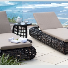 RC19 Commercial Outdoor Beach Lounger Daybed