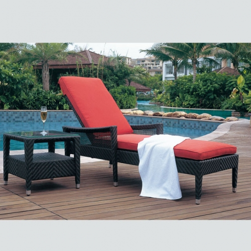 RC15 Outdoor furniture outdoor sun lounger