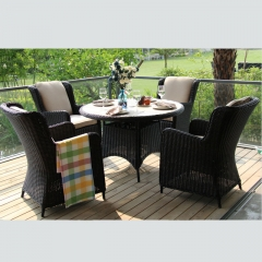 RTC-20 Arlau outdoor rattan garden set high quality