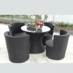 RTC-15 garden use rattan table and chair