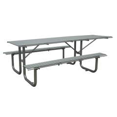 TB24 Street steel table and bench