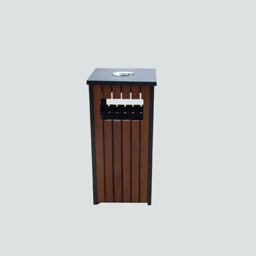 BW19 recycle rectangular wood bins