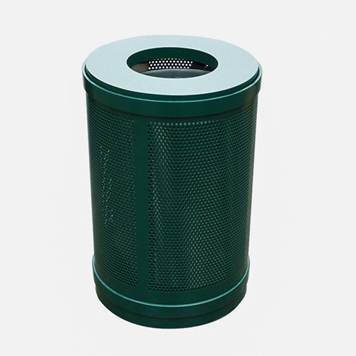 BS86 Outdoor Park Steel Metal mesh Trash Bins