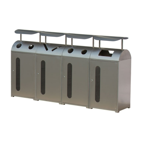 BS33 Metal Recycle Bin Cheap Waste Bin