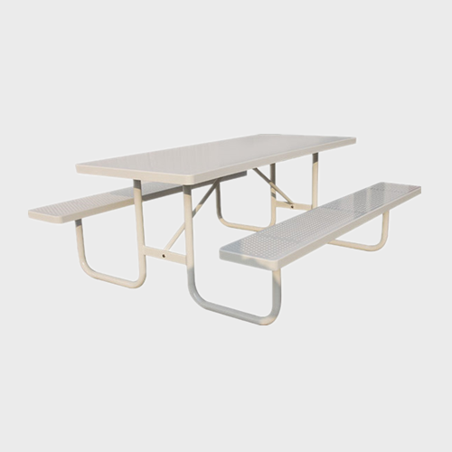 TB01 Public metal steel picnic table