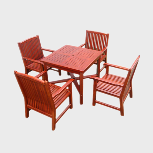 TB37 Outdoor park wood picnic tables
