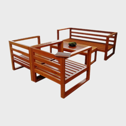 TB38 Outdoor park wood picnic tables