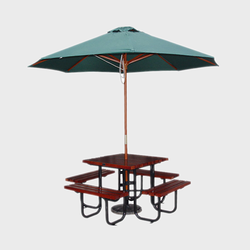 TB44 Wooden outdoor table and chairs
