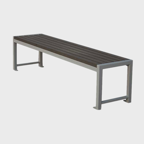 Backless Wood Plastic Composite Garden, Small Outdoor Benches