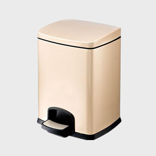 BS89 Rocking Lid Stainless Steel Trash Can For Hotel