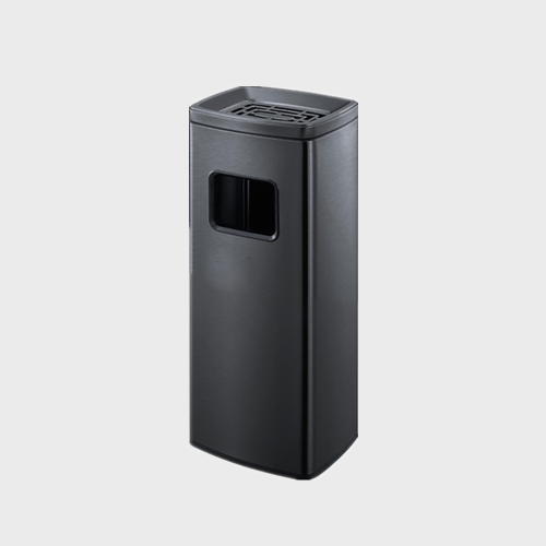 BS114 Stand Stainless Steel Office Dustbin