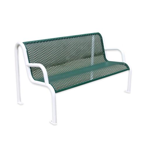 Outdoor Furniture Street Steel Mesh Bench, Mesh Outdoor Furniture